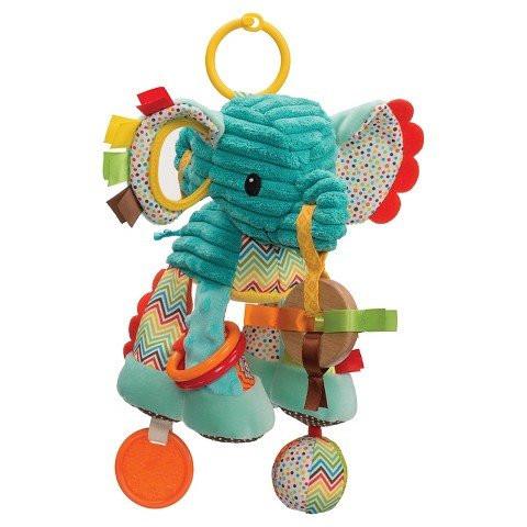 Infantino plišana zvečka Slon