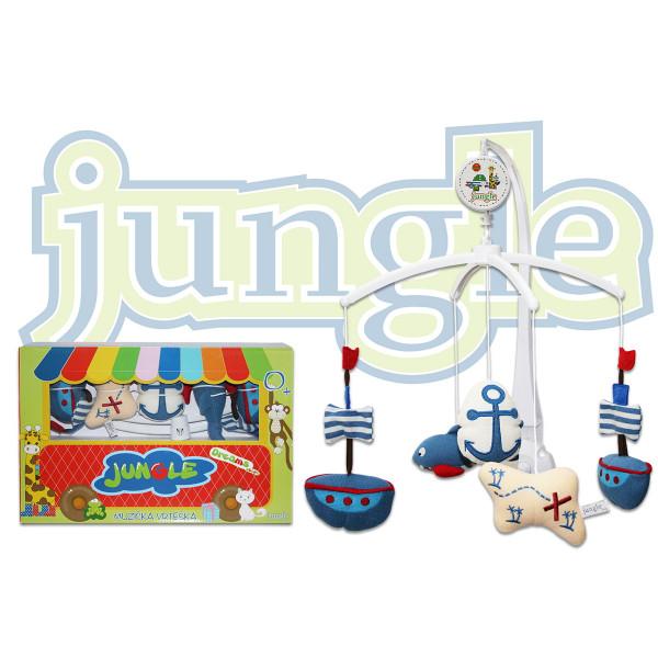 Jungle muzička vrteška 16TR-05