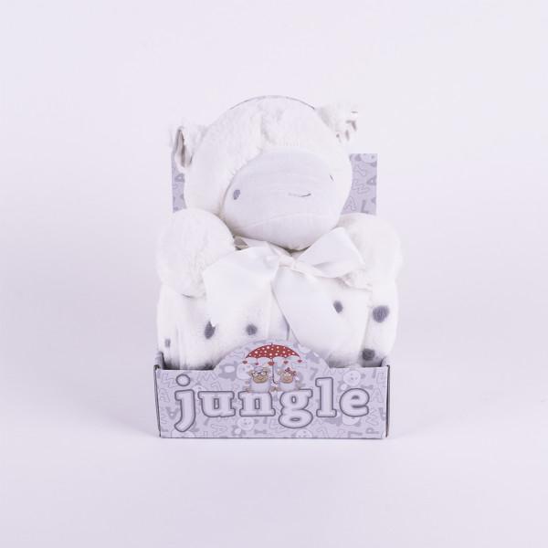 Jungle ćebe sa igračkom
