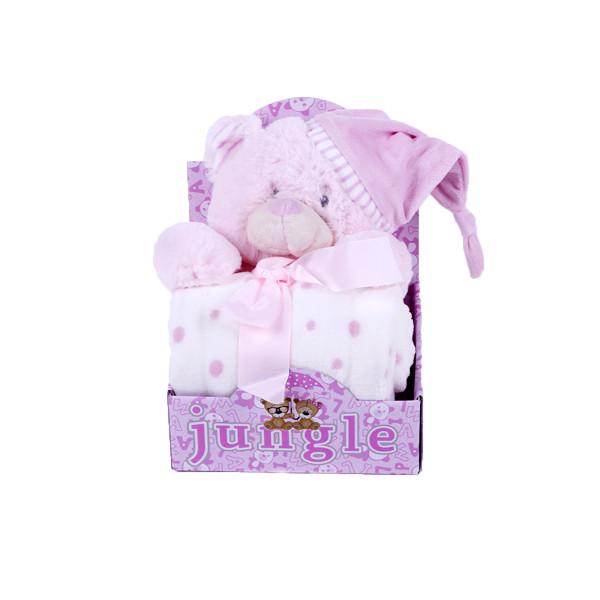 Jungle ćebe sa igračkom WL-5337/P