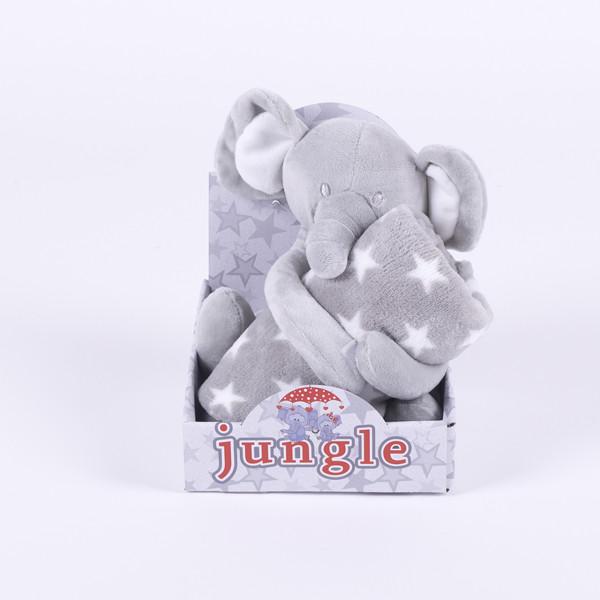 Jungle ćebe sa igračkom WL-5326/G