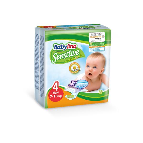 Babylino sensitive pelene MAXI 4, 20kom