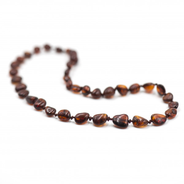 Baby line ogrlica Beans Konjak