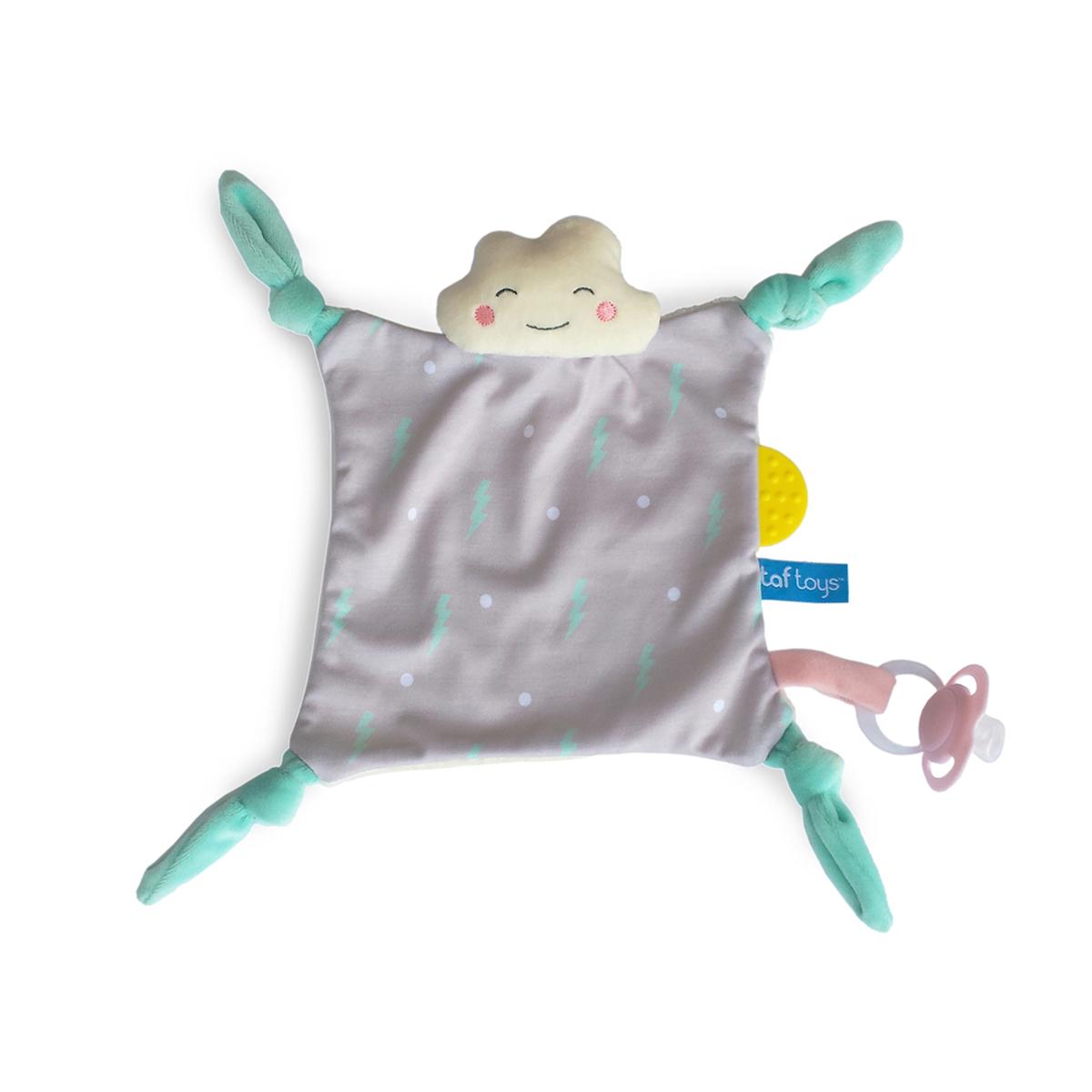 Taf Toys ćebence za utehu sa lančićem Oblačak