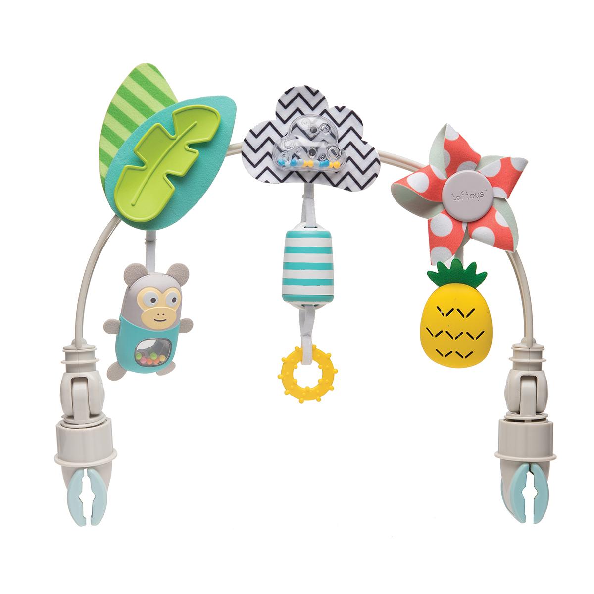 Taf Toys igračka luk za kolica Tropical orchestra