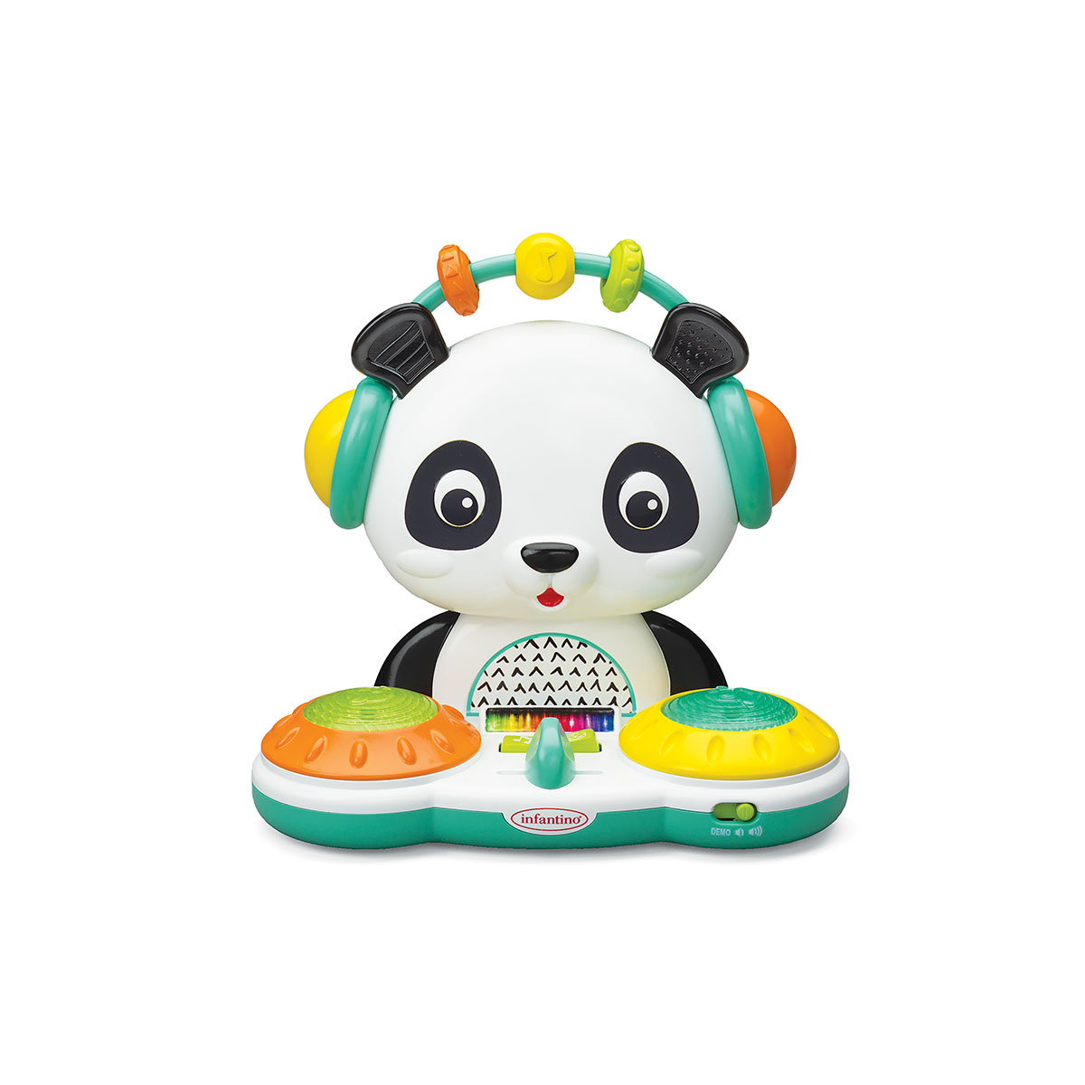 Infantino muzička/edikativna igračka Spin and slide Panda