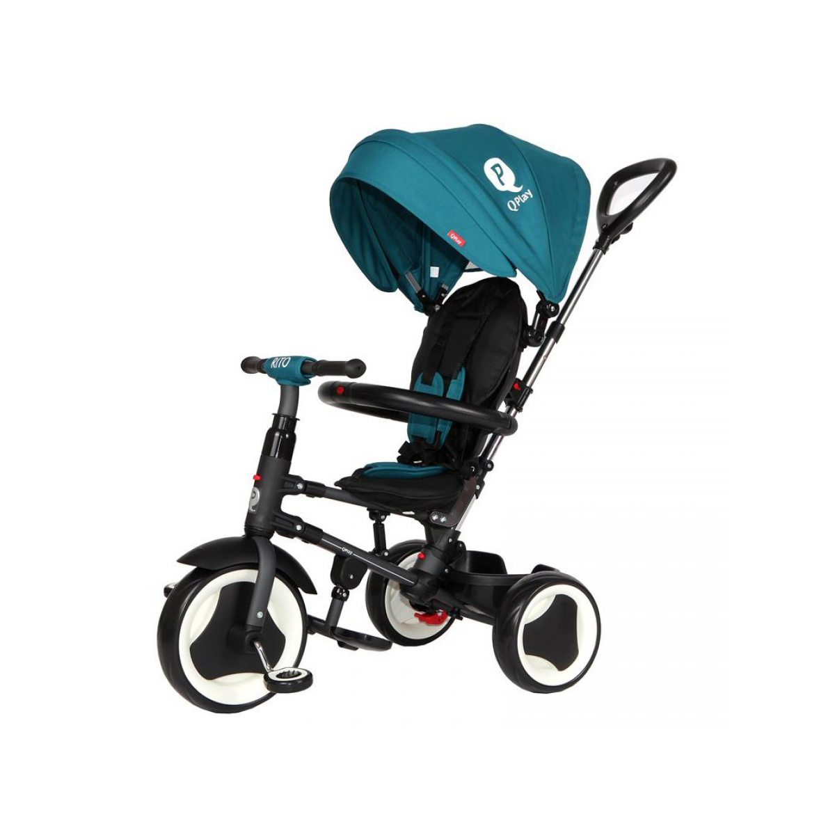 Qplay tricikl Rito green blue