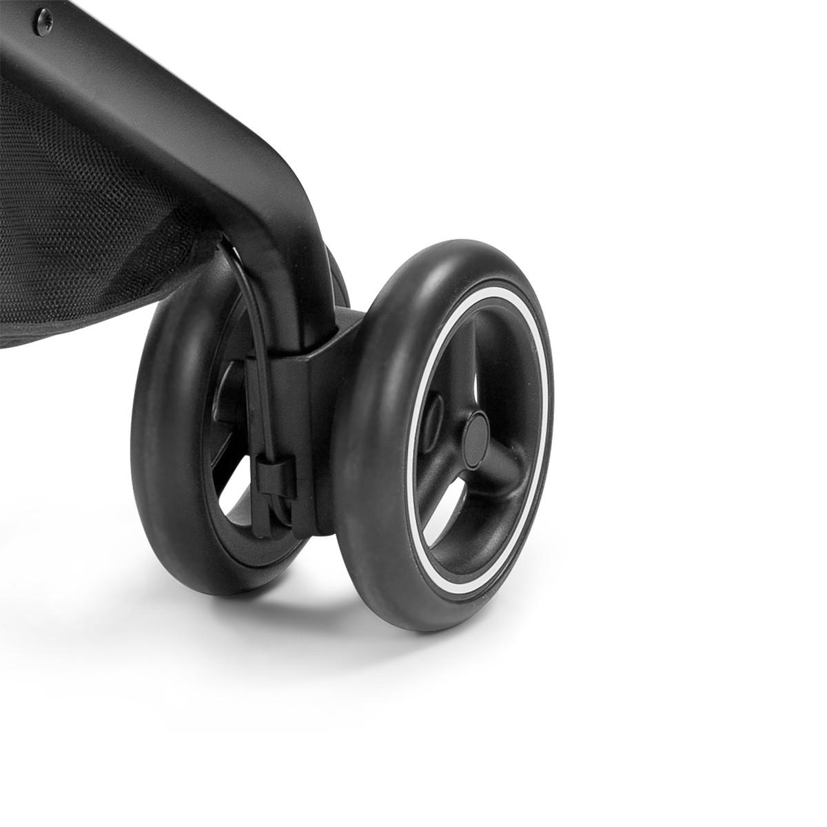 GB kolica Qbit+, all terrain velvet black 6m+