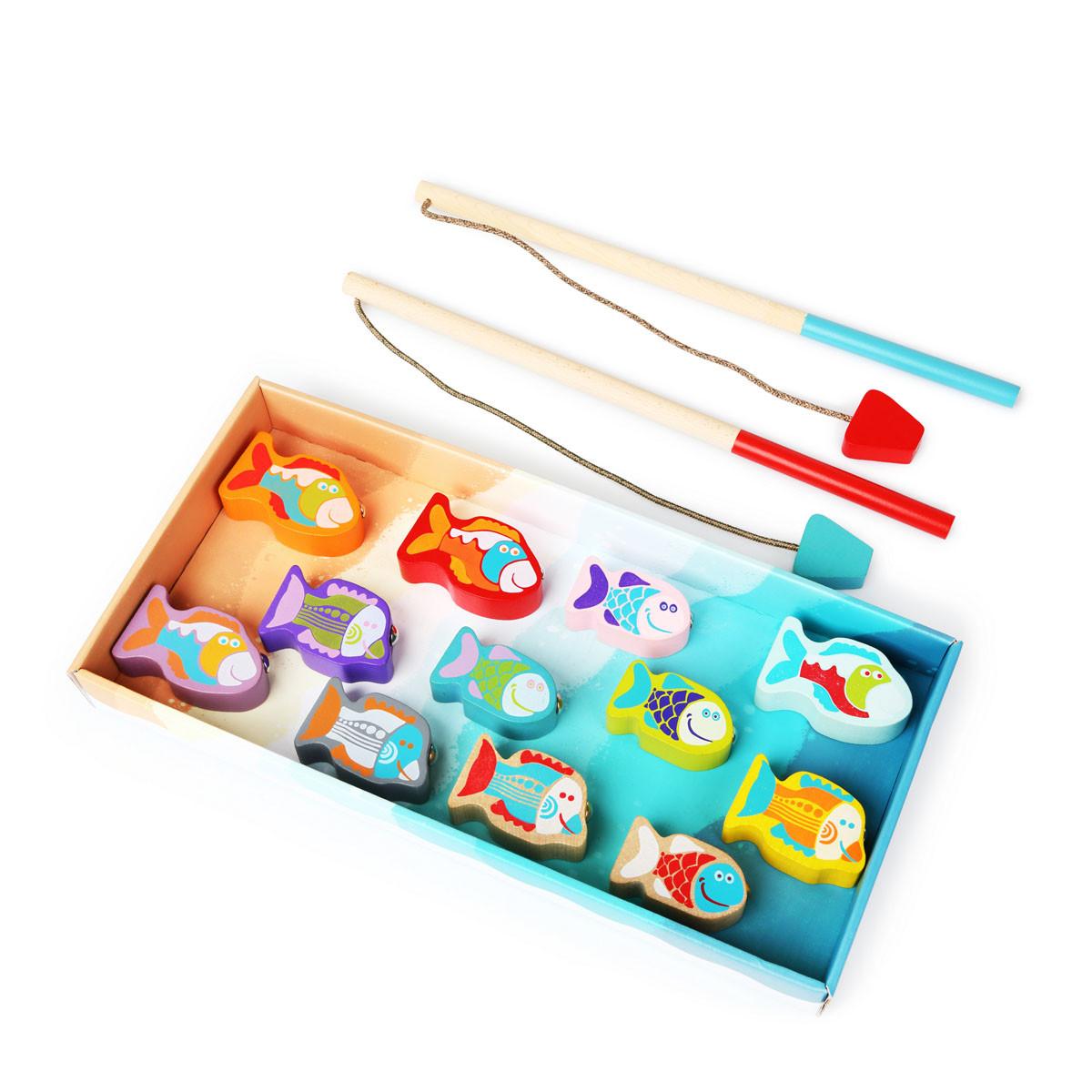 Cubika drvena igračka nizanje perli