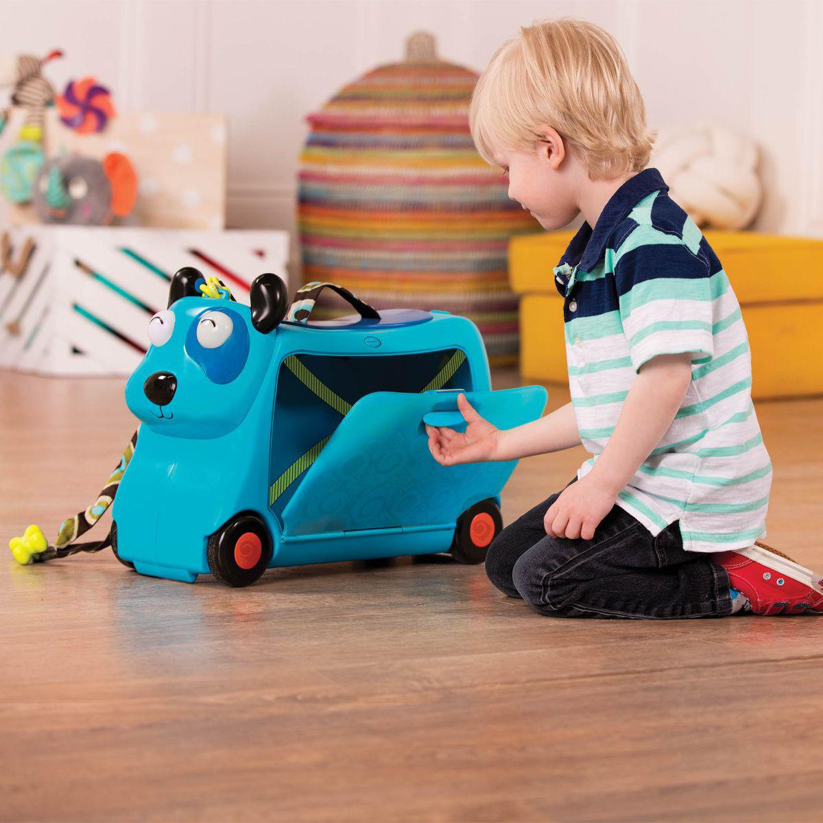 B toys dečiji kofer i guralica Kuca
