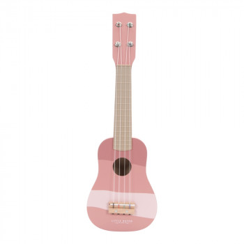 Little Dutch gitara Adventure pink