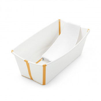 Stokke kadica sa kupkom Flexi  Bath White Yellow