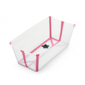 Stokke kadica Flexi Bath Transparent Pink