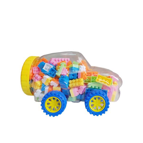 Konig kids automobil sa kockicama,120 kom