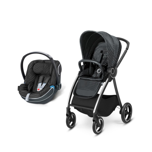 Duo sistem  Maris 2  black lux, 0m+