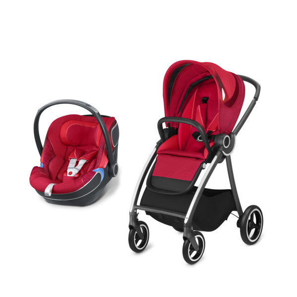 Duo sistem Maris2  bold sport red, 0M+