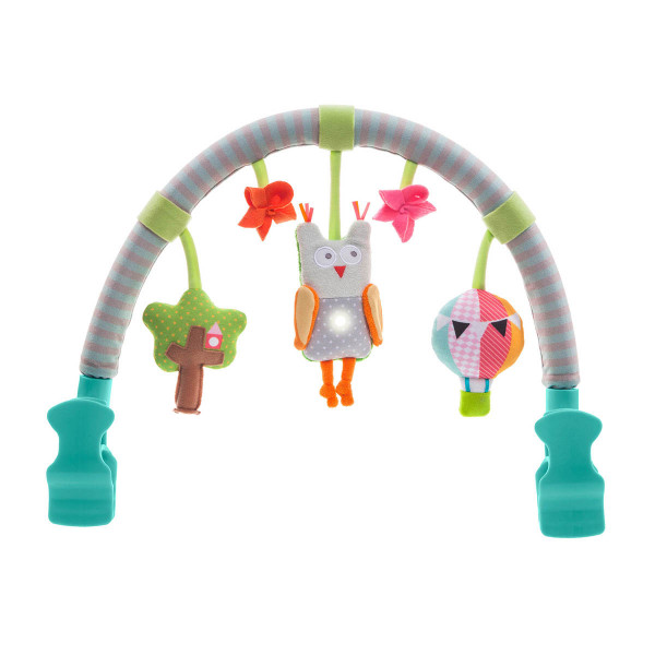 Taf Toys muzicka igračka luk za kolica Sova