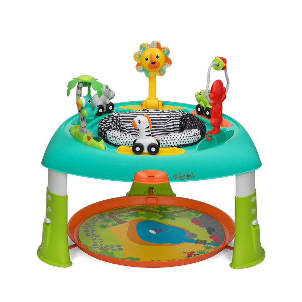 Infantino sit,spin,stand entertainer 360 seat&activity table