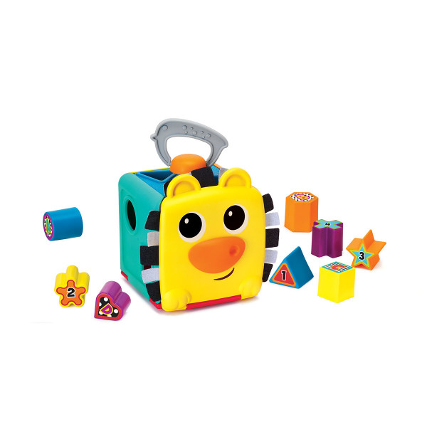 B kids edukativna igračka jungle buddy shape sorter