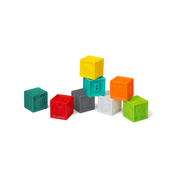 Infantino set gumenih kocki 8