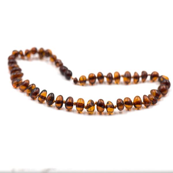 Baby line ogrlica Baroque Konjak