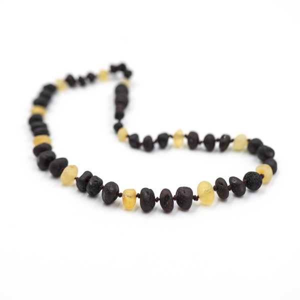 Baby line ogrlica Baroque 3 višnje/1 bela