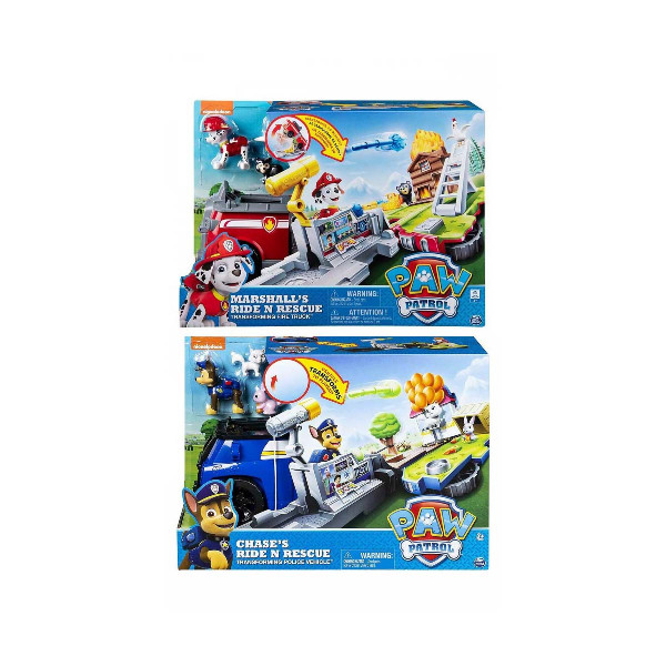 Paw patrol ride and rescue voz