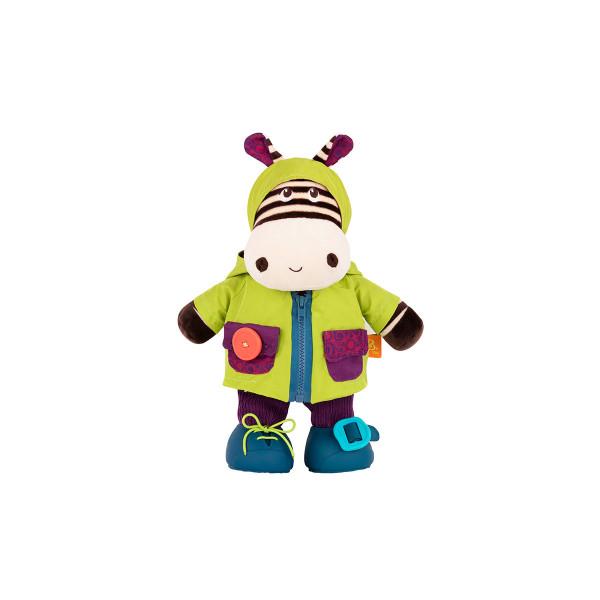 B toys plišana igračka  obuci me  Zebra