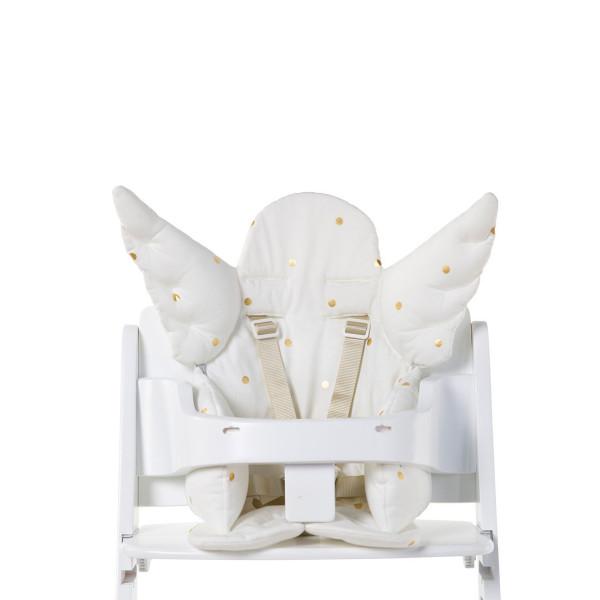 Childhome univerzalni jastuk za hranilicu ANGEL, gold dots