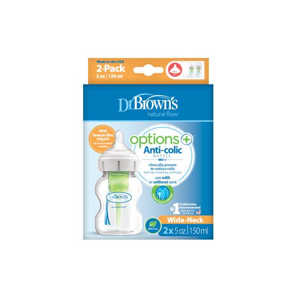 Dr Browns plastična OPTIONS   + bočica 150ml,2/1