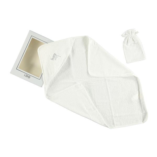 IDO peškir sa kapuljačom i rukavicom V111